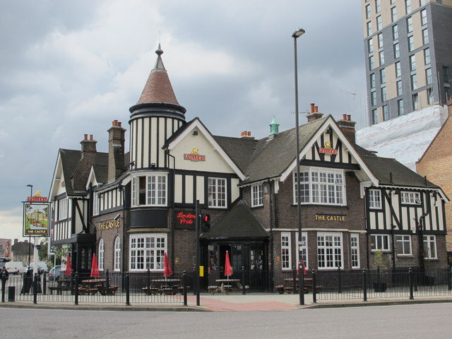 The Castle, Victoria Road / Wales Farm Road, NW10