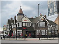 TQ2081 : The Castle, Victoria Road / Wales Farm Road, NW10 by Mike Quinn