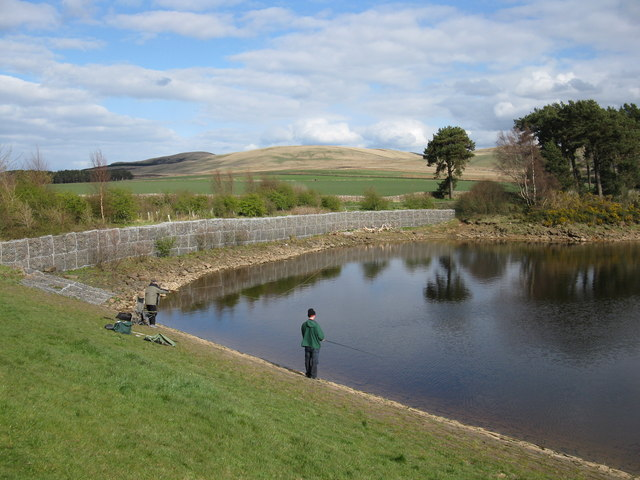 Fishermen, Harlaw Reservoir