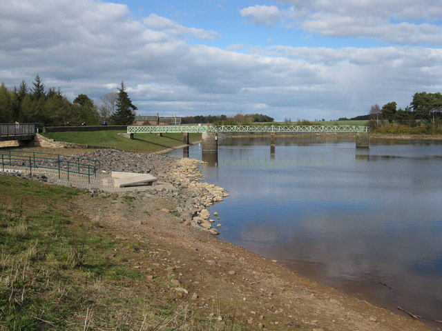 Harlaw Reservoir Spillway