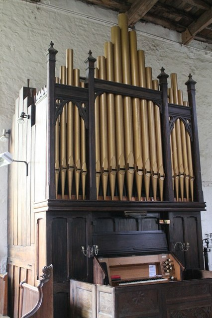 Organ, St Luke's church, Gaddesby
