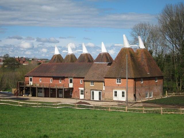 Finchcocks Farm Oast, Finchcocks, Goudhurst