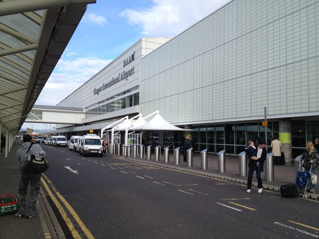 Glasgow Airport - terminal building