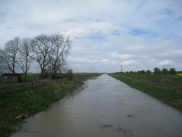 The Louth Canal at Fulstow Bridge