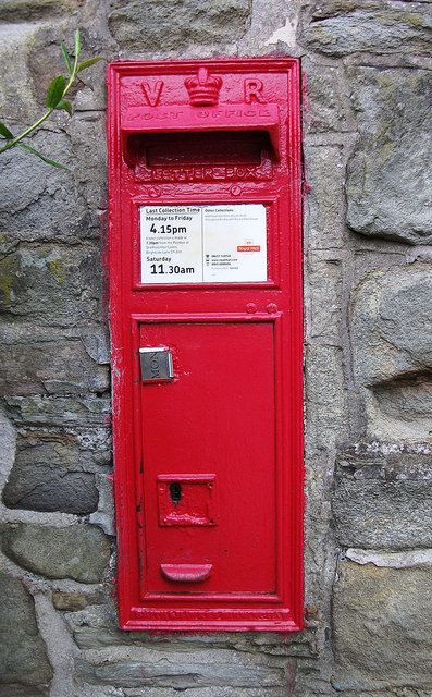 Victorian wall box, Barber Booth