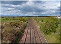 NS4730 : Kilmarnock/Dumfries Railway by wfmillar