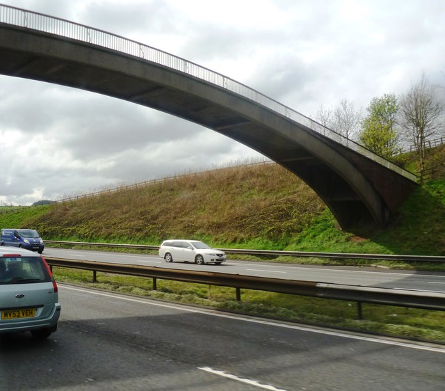 Footbridge over the M6