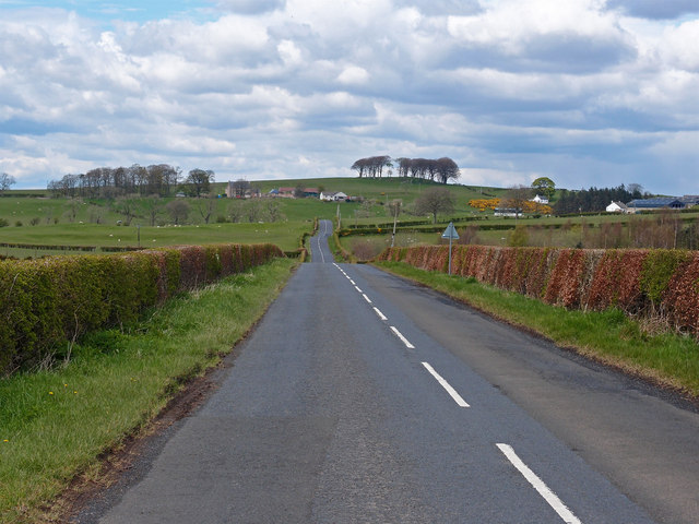 B7037 near Bent Farm