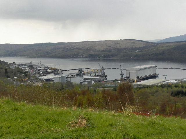 HMNB Clyde, Gare Loch