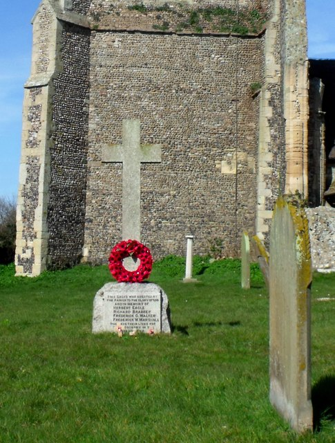 War memorial, Covehithe