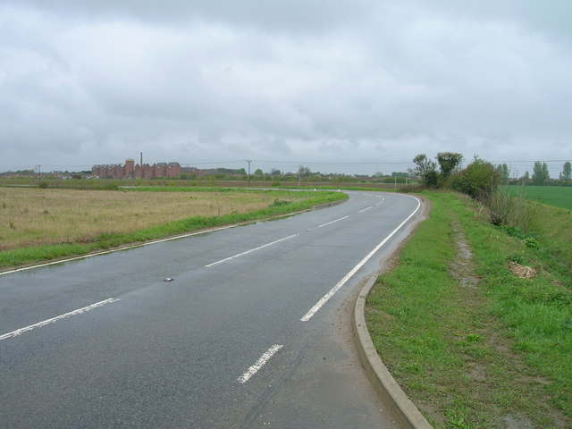 Mareham Lane towards Sleaford