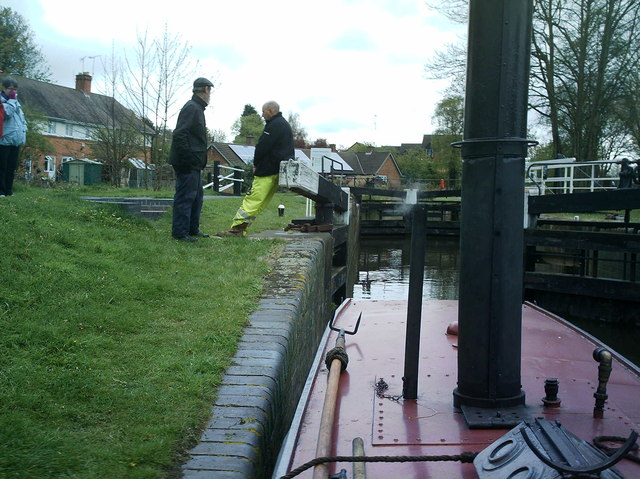 Droitwich Barge lock