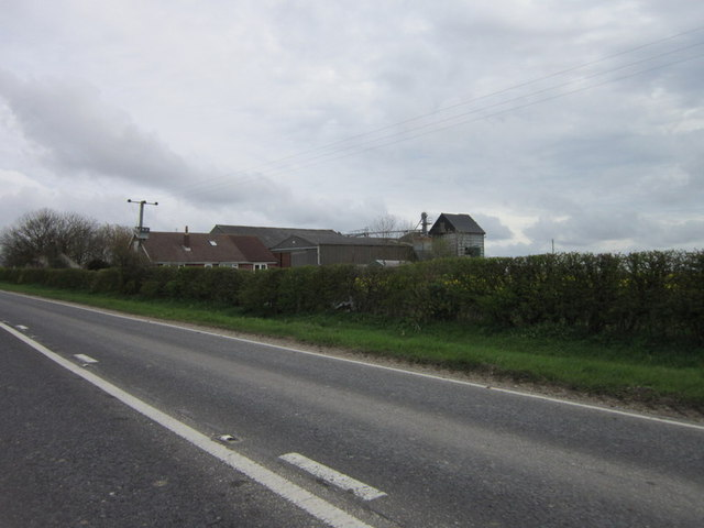 Highfield Farm from the B1249