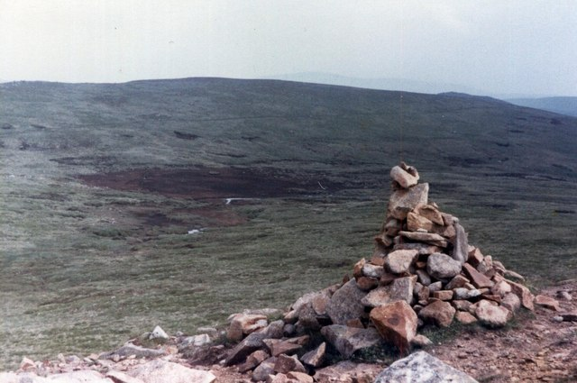 The summit of Jock's Road