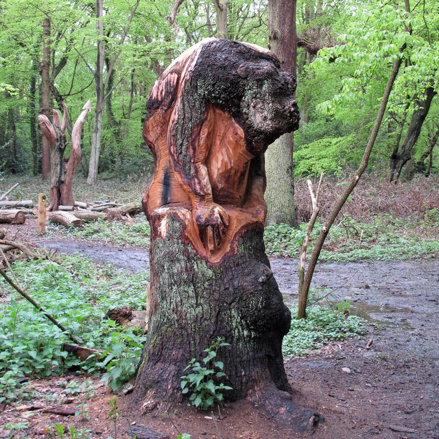 Hainault Forest Tree Sculpture (3)