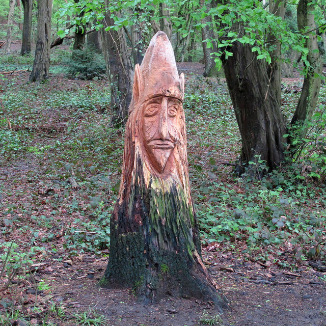 Hainault Forest Tree Sculpture (4)
