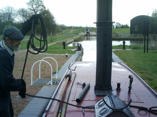 New locks on the Junction canal
