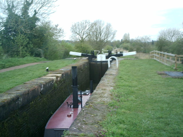 Older and restored locks on the Junction canal