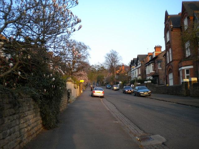 Ascending Ebers Road