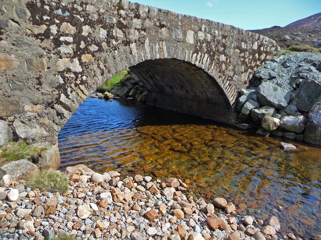 Bridge over the Abhainn Ceann Loch Ainort