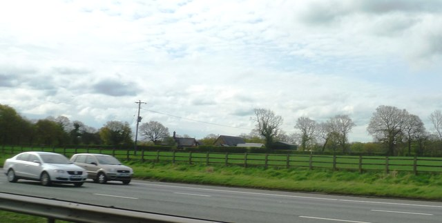 Guidepost Farm from the M6