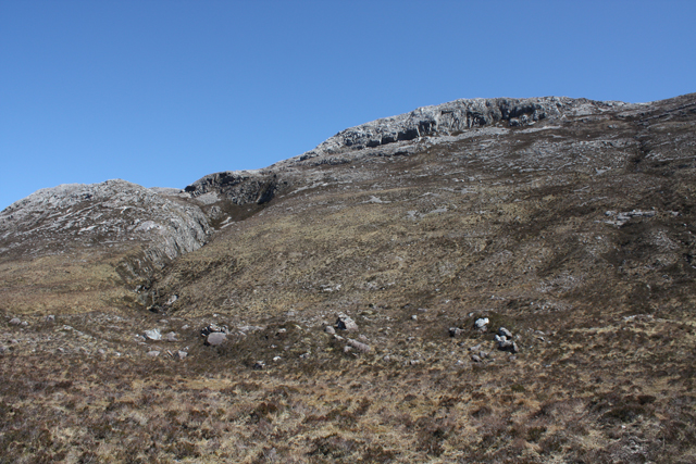 Western slopes of Sgurr Dubh