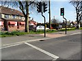TM5294 : Pedestrian crossing, Oulton by nick macneill