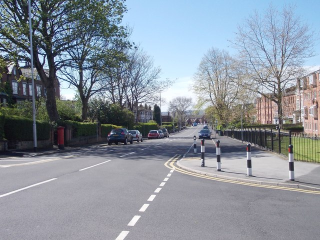 Belle Vue Road - viewed from Woodsley Road