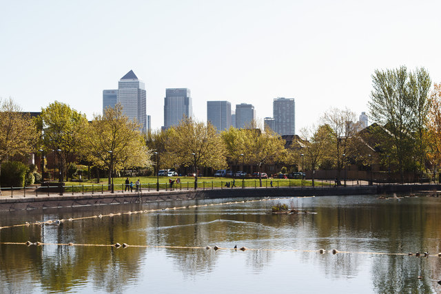 Surrey Water and Canary Wharf