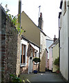 SX4350 : Little Lane, Kingsand - view eastwards by Rob Farrow