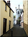 SX4350 : Little Lane, Kingsand - view westwards by Rob Farrow