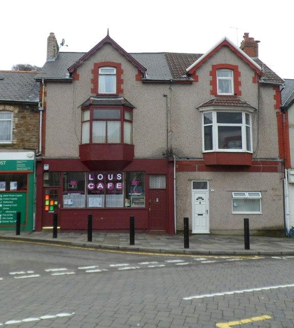 Lou's Cafe, Senghenydd