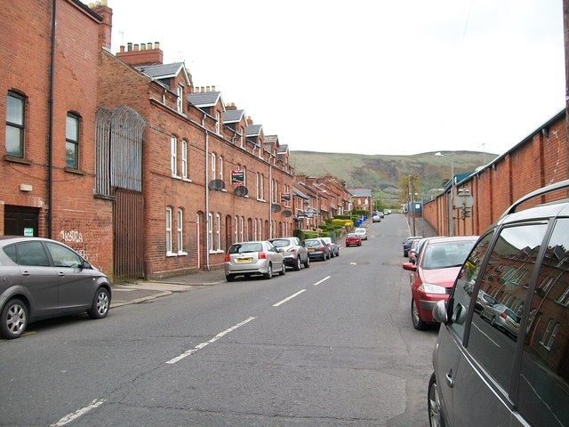 Divis Drive with the Black Mountain in the background