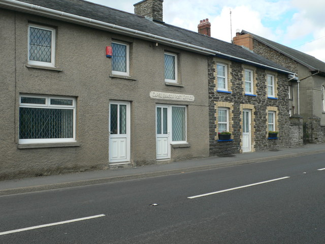 Former Post Office at Capel Bangor