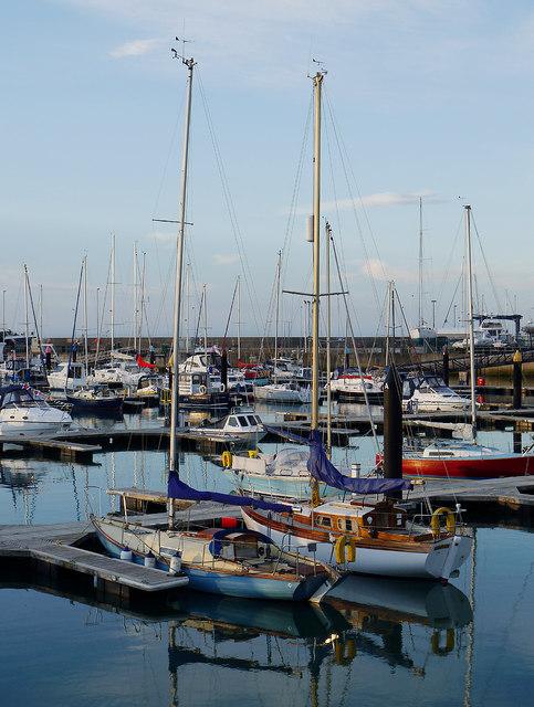 Yachts, Bangor Marina