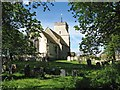TL3653 : Great Eversden church in April by John Sutton