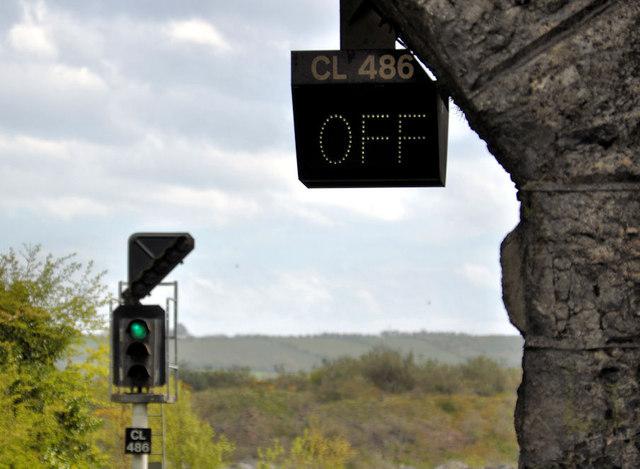 Railway signals, Magheramorne