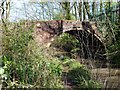 SK4681 : Derelict bridge on the Chesterfield Canal at Norwood  by Graham Hogg