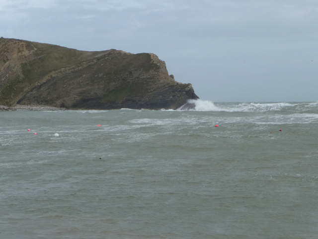 Rough Sea, Lulworth Cove, Dorset