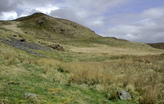 Moorland east of Ffair-Rhos, Ceredigion