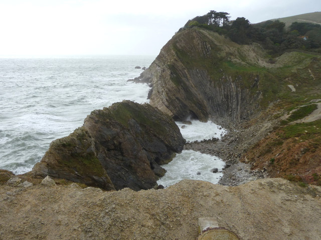 Stair Hole from the Coastal Path