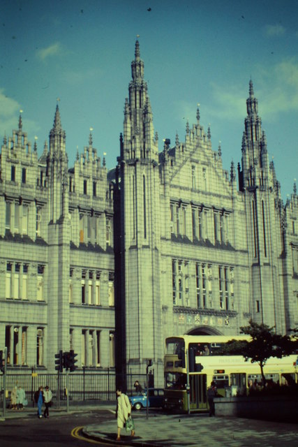 Marischal College, West Front