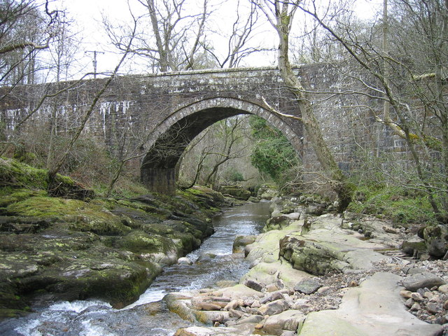 Hynam Bridge and the River Gelt