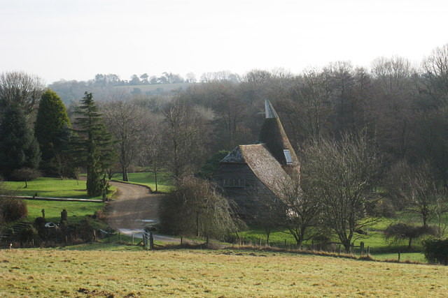 Oast House at Hare Holt, Witherenden Road, Mayfield