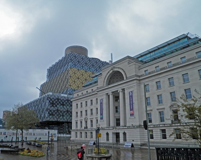 Birmingham's distinctive new library
