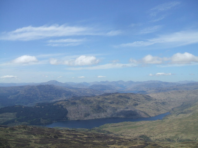 View from Ben Ledi
