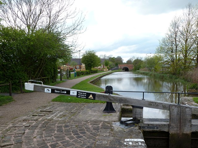 The pound above Stret Lock