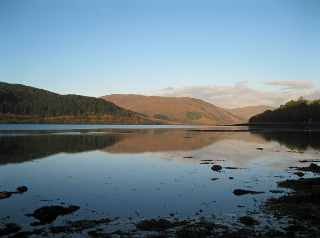 Early morning in Loch Sunart