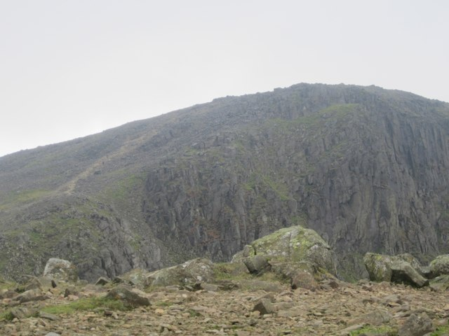 Gable Crags from Green Gable