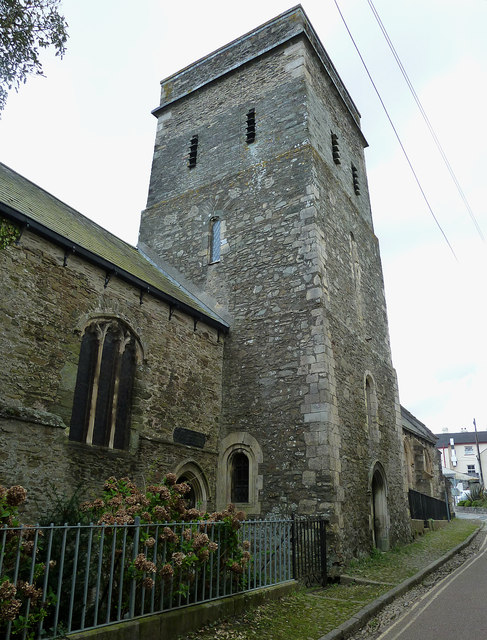 St Nicholas & St Faith, Saltash - tower